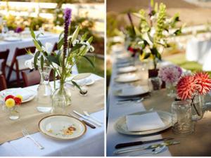 Designer Burlap Tablecloths, Designer Burlap Napkins