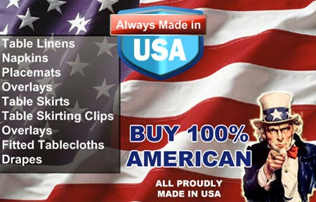 All proudly made in the USA