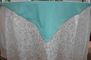 Majestic Dupioni side & Damask Tablecloth Fabric
