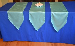 Majestic Tablecloth Fabric Table Runners