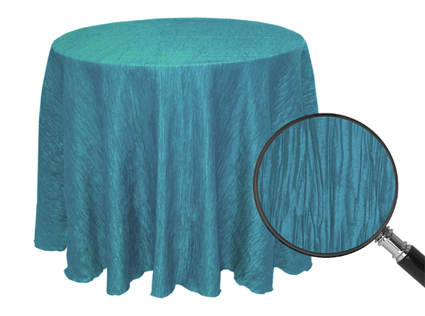 Exceptionnel Thereu0027s Something Especially Magical About Crinkled Taffeta Table Cloths  And Overlays. Light Reflects Off The Cloth At Different Angles Creating An  ...