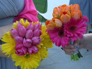 non traditional wedding bouquet