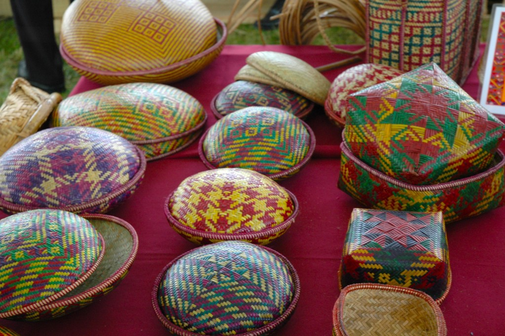Bhutanese baskets