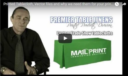 Printed Tablecloths: What is a vector file and why do we need one??