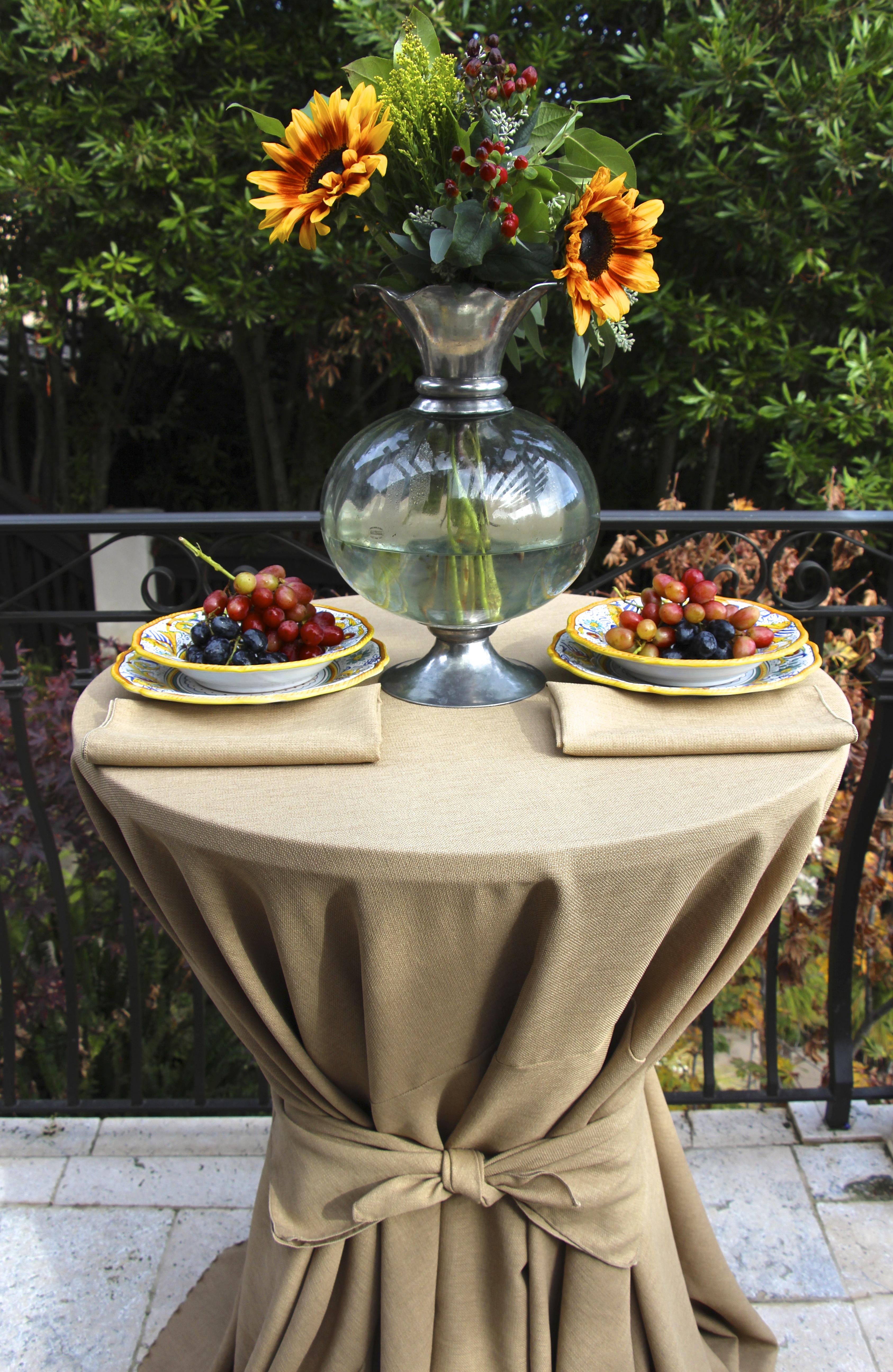 Havana Faux Burlap Table Linens Premier Table Linens Blog