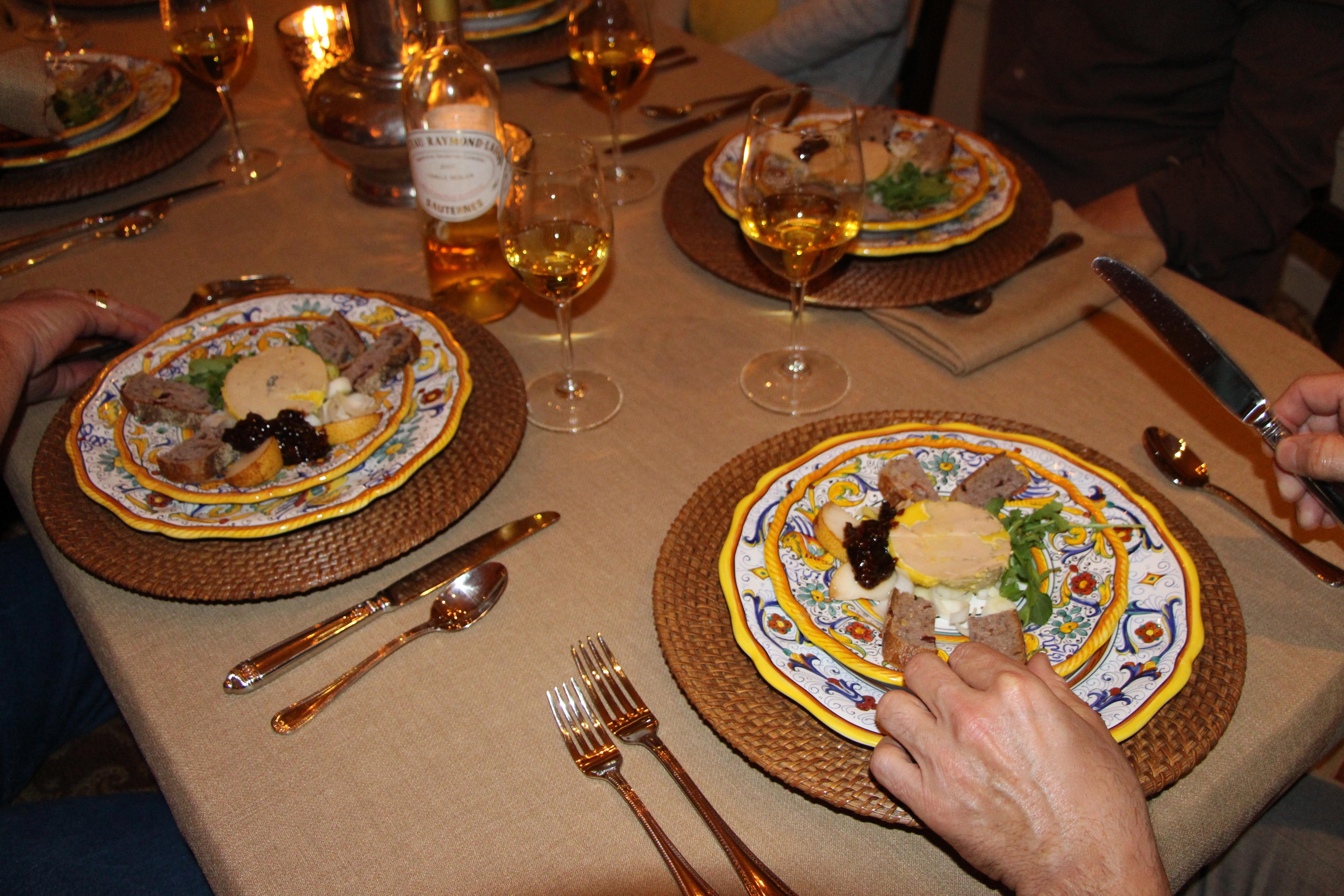 IMG_2129 & Holiday Entertaining with Saxony Damask u0026 Burlap Table Linens ...
