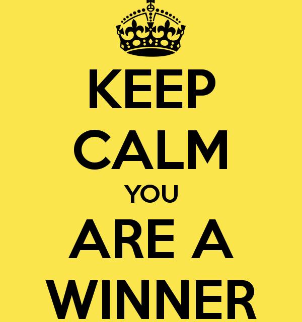 """Ladies & Gentlemen """"WE HAVE OUR WINNERS!!!!"""""""