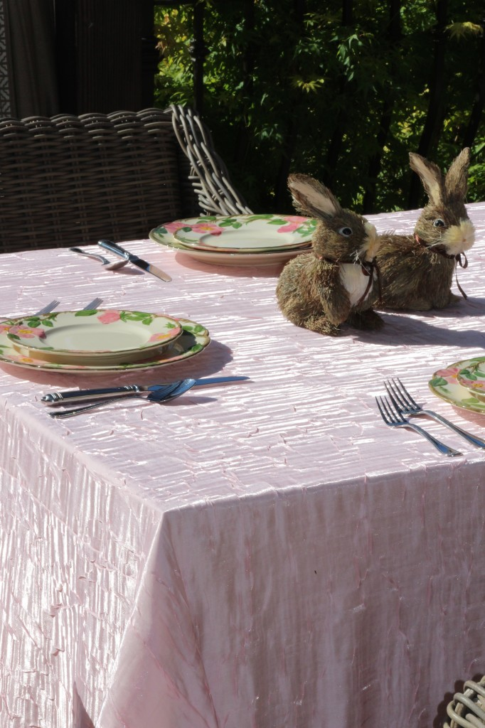 Blush Pink Dazzle Table Linen