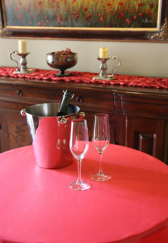 Duchess Watermelon Table Linen