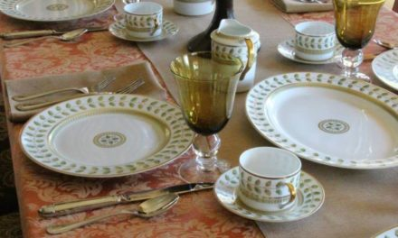 Fall Into Luxurious Textures with Miranda Damask by Premier Table Linens