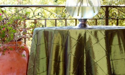 Liven up any Occasion with Festive Bombay Pintuck Table Linens
