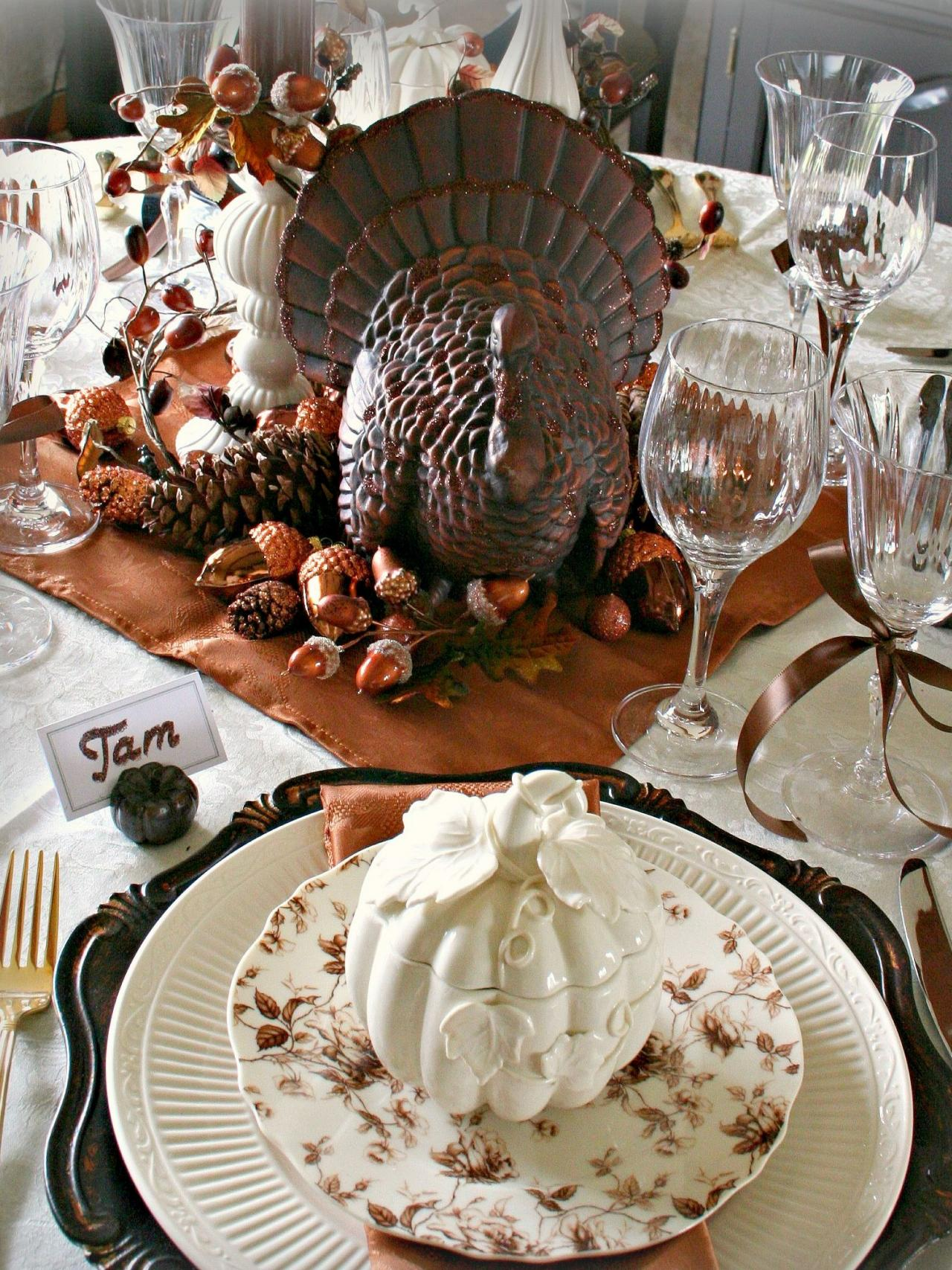 Thanksgiving Table Setting Ideas 2015 thanksgiving tablecloth and setting ideas | premier table