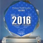 Premier Table Linens Receives 2016 Best of Coral Gables Award