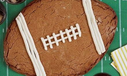 Peanut Butter Football Cookie