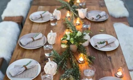12 INSPIRING WEDDING TABLE-SETTING IDEAS