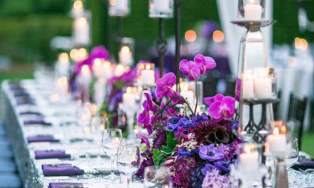 How to incorporate Pantone 'Ultra Violet' into your Wedding and Reception